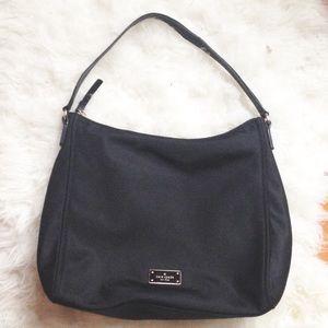 kate spade blake avenue medium black shoulder bag